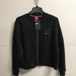 Women's large Nike Air zip up sweatshirt/jacket